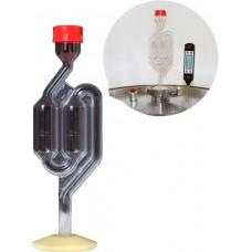Гидрозатвор LUXSTAHL с переходником на кламп