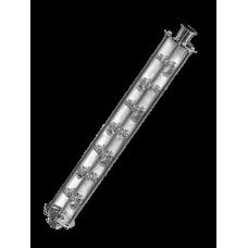 Колпачковая колонна D80, 7 тарелок, 3 колпака (поликарбонат)