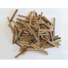 Дубовые палочки (средний обжиг), 50 гр 50*6 мм