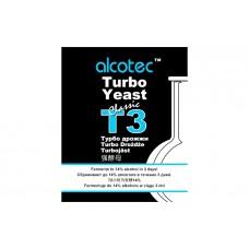 Дрожжи спиртовые ALCOTEC TURBO 3, 120г.