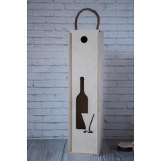Подарочная коробка водка 0.5л